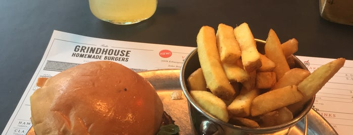 Grindhouse Burgers is one of Berlin food.