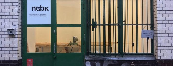 neue Gesellschaft für bildende Kunst (nGbK) is one of Gespeicherte Orte von Gonçalo.