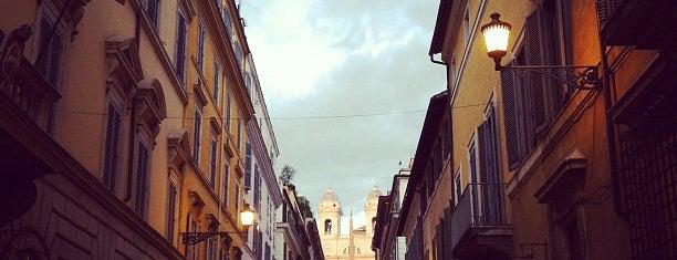 Via dei Condotti is one of Roma.
