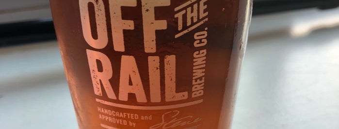 Off The Rail Brewing Co is one of Craft Beer.