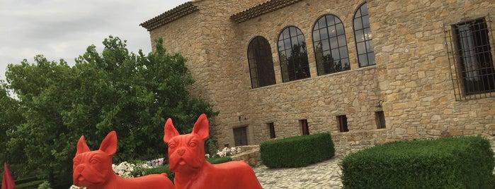 Chateau Castigno is one of สถานที่ที่บันทึกไว้ของ Jean-Marc.