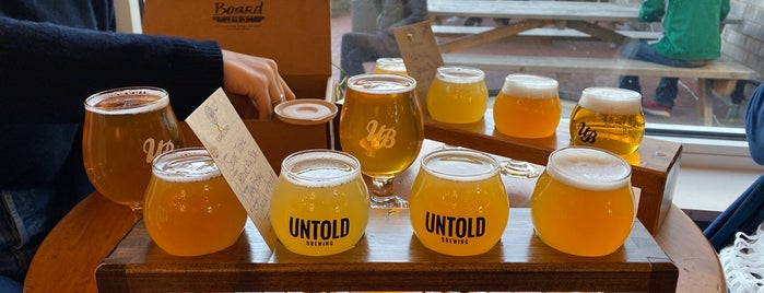 Untold Brewing is one of Tempat yang Disukai Jason.