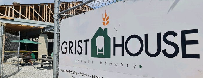 Grist House Craft Brewery is one of My Brewery List.