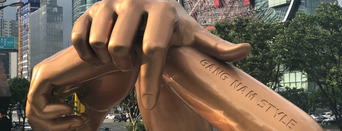 Gangnam Style Sculpture is one of South Korea.