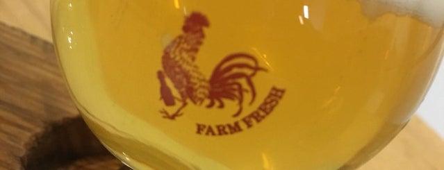Farmhouse Brewery Taproom is one of Orte, die Cheryl gefallen.