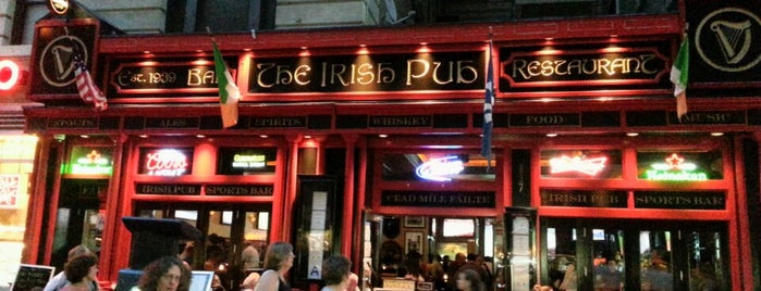 The Irish Pub is one of NYC.