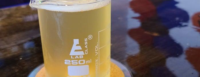 Grindhaus Brew Lab is one of Orte, die Ted gefallen.