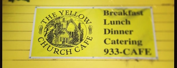 Yellow Church Café is one of Stephanieさんのお気に入りスポット.