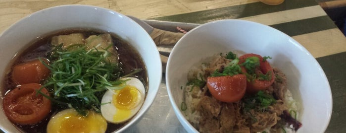 Ivan Ramen Slurp Shop is one of Tempat yang Disukai T.