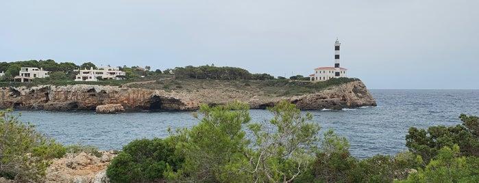 Faro de Portocolom is one of mallorca.