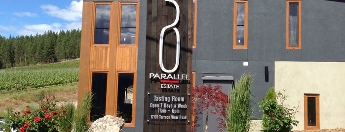 50th Parallel Winery is one of Orte, die Andrew Vino50 Wines gefallen.