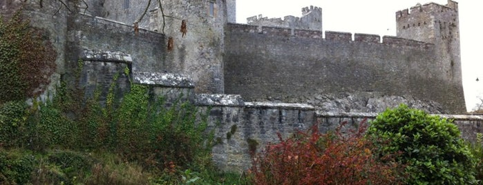 Cahir Castle is one of Mark's list of Ireland.