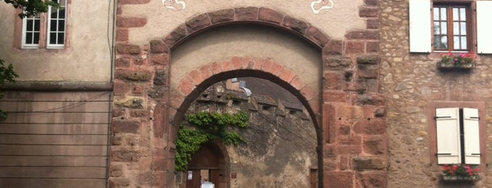 Porte basse de Kientzheim is one of Best of Alsace.