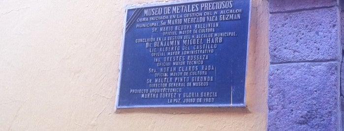 Museo De Metales Preciosos Precolombinos is one of World Ancient Aliens.