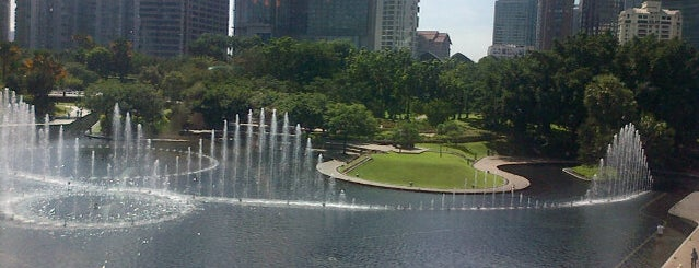 Kuala Lumpur City Centre (KLCC) Park is one of Attraction Places to Visit.