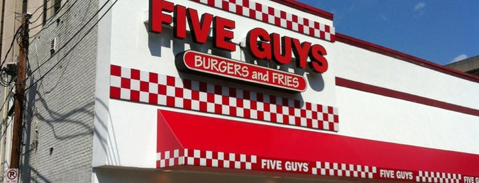 Five Guys is one of Turki 님이 좋아한 장소.