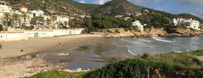 Platja d'Aiguadolç is one of Les millors platges prop de Barcelona.