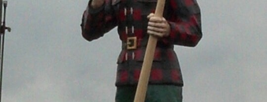 Paul Bunyan Statue is one of Things to do nearby NH, VT, ME, MA, RI, CT.