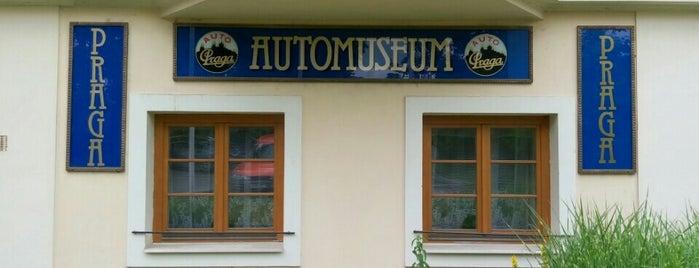 Muzeum  Auto Praga is one of Tourist tips by Škoda.