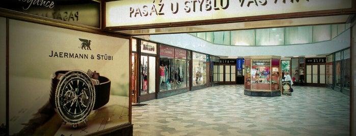 Pasáž U Stýblů is one of Fotogenické pasáže v Praze.