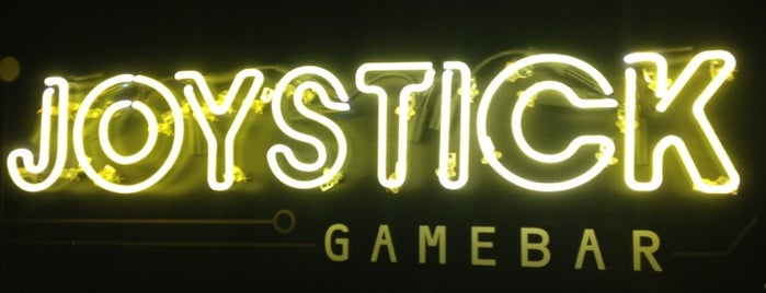 Joystick Gamebar is one of Chloe's Atlanta Favs.