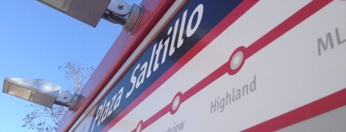 MetroRail - Plaza Saltillo Station is one of ROT Rally.