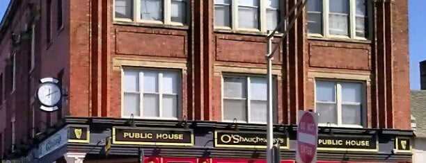 O'Shaughnessy's Public House is one of Lugares favoritos de Julie.