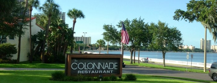 The Colonnade is one of My Food.