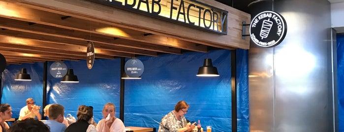 The Kebap Factory is one of สถานที่ที่ Peter ถูกใจ.