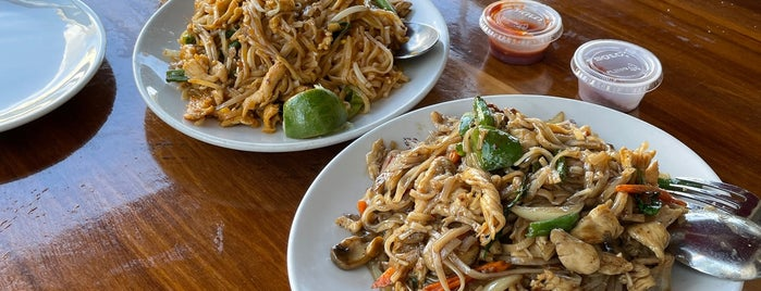 Atchana's Homegrown Thai is one of Miami local eats.
