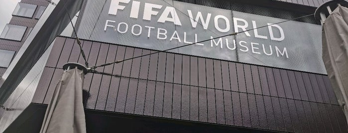 FIFA World Football Museum is one of Because Foursquare F*cked Up Their List Feature 2.