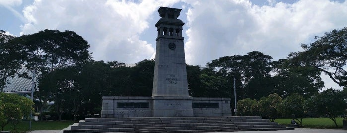 The Cenotaph (War Memorial Monument) is one of シンガポール/Singapore.