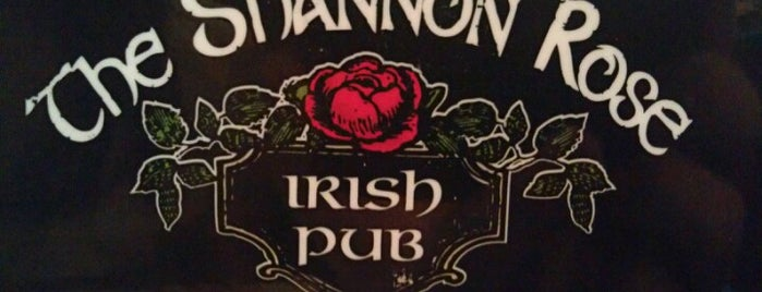 The Shannon Rose Irish Pub is one of Kristenさんのお気に入りスポット.