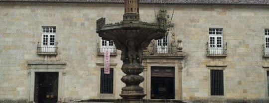 Largo do Paço is one of Braga.
