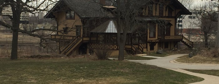 Tinker Swiss Cottage is one of Illinois's Greatest Places AIA.