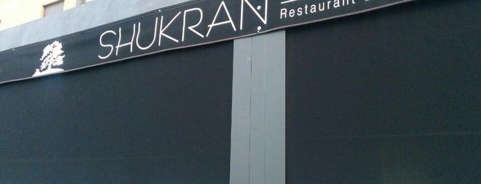 Shukran is one of Comer en Madrid.