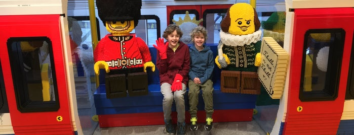 The LEGO Store is one of London.
