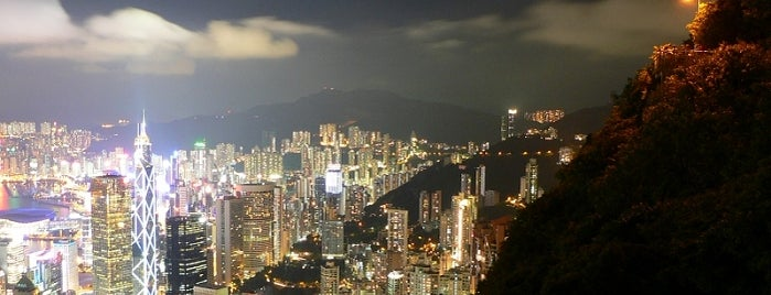 Victoria Peak is one of Go Ahead, Be A Tourist.