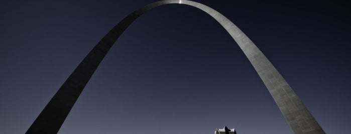 Gateway Arch is one of Discover Historic Route 66.
