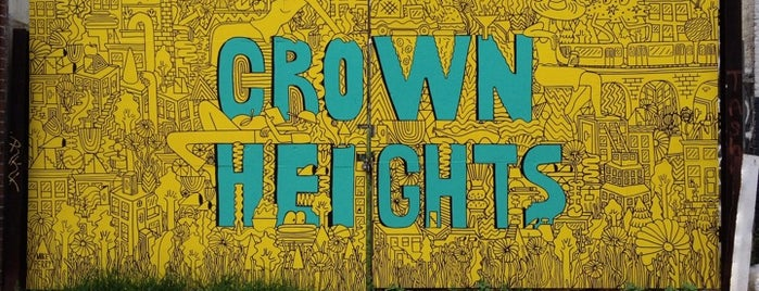 Crown Heights Mural is one of Erik 님이 좋아한 장소.