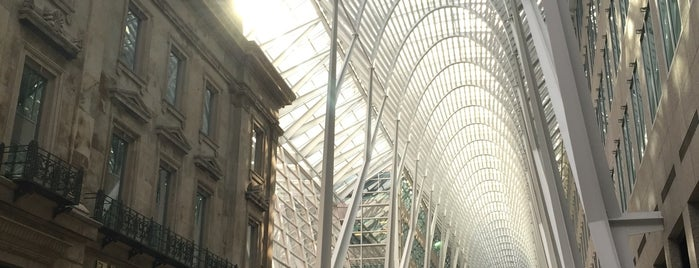 Allen Lambert Galleria is one of Erik : понравившиеся места.