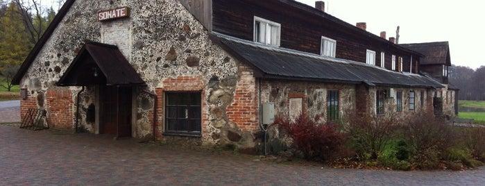 Sonāte, viesu nams is one of AtputasBazes.lv VOL 2.