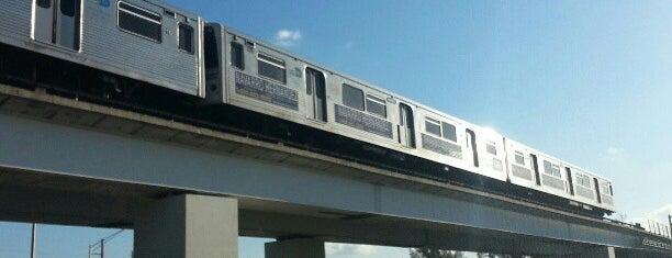 MDT Metrorail - Okeechobee Station is one of sole.