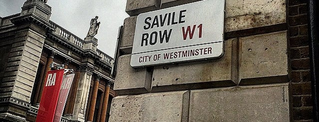 The Savile Row Shirt Co is one of London1.