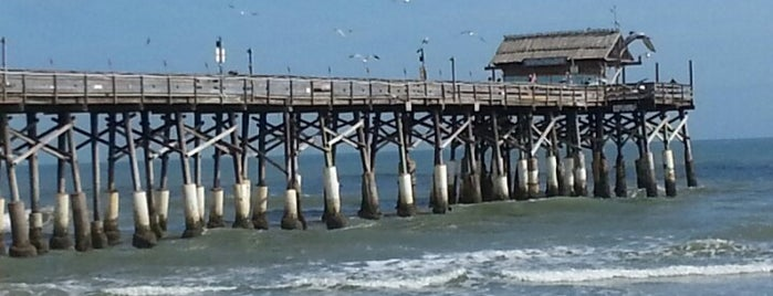Cocoa Beach Pier is one of Best Water Views in Florida.