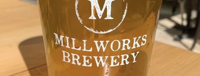 The Millworks is one of Vineyards, Breweries, Beer Gardens.