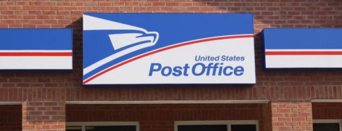 US Post Office is one of minhas viagens *.*.
