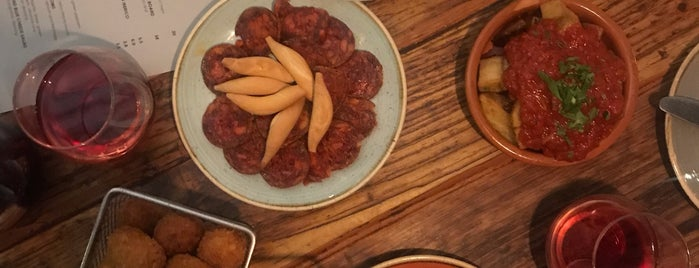 Lobos Meat and Tapas is one of Best Food in London.
