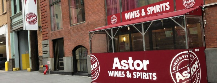 Astor Wines & Spirits is one of Comidas Nueva York.