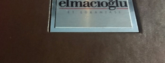 Elmacıoğlu Et Lokantası is one of Orte, die didem gefallen.
